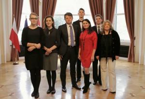 Jego Ekscelencja Ambasador Polski w Wiedniu Pan  Polskie pary debiutantów,