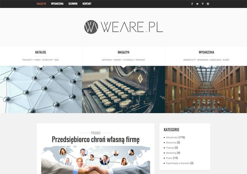 Weare.pl – Wspieramy polską przedsiębiorczość