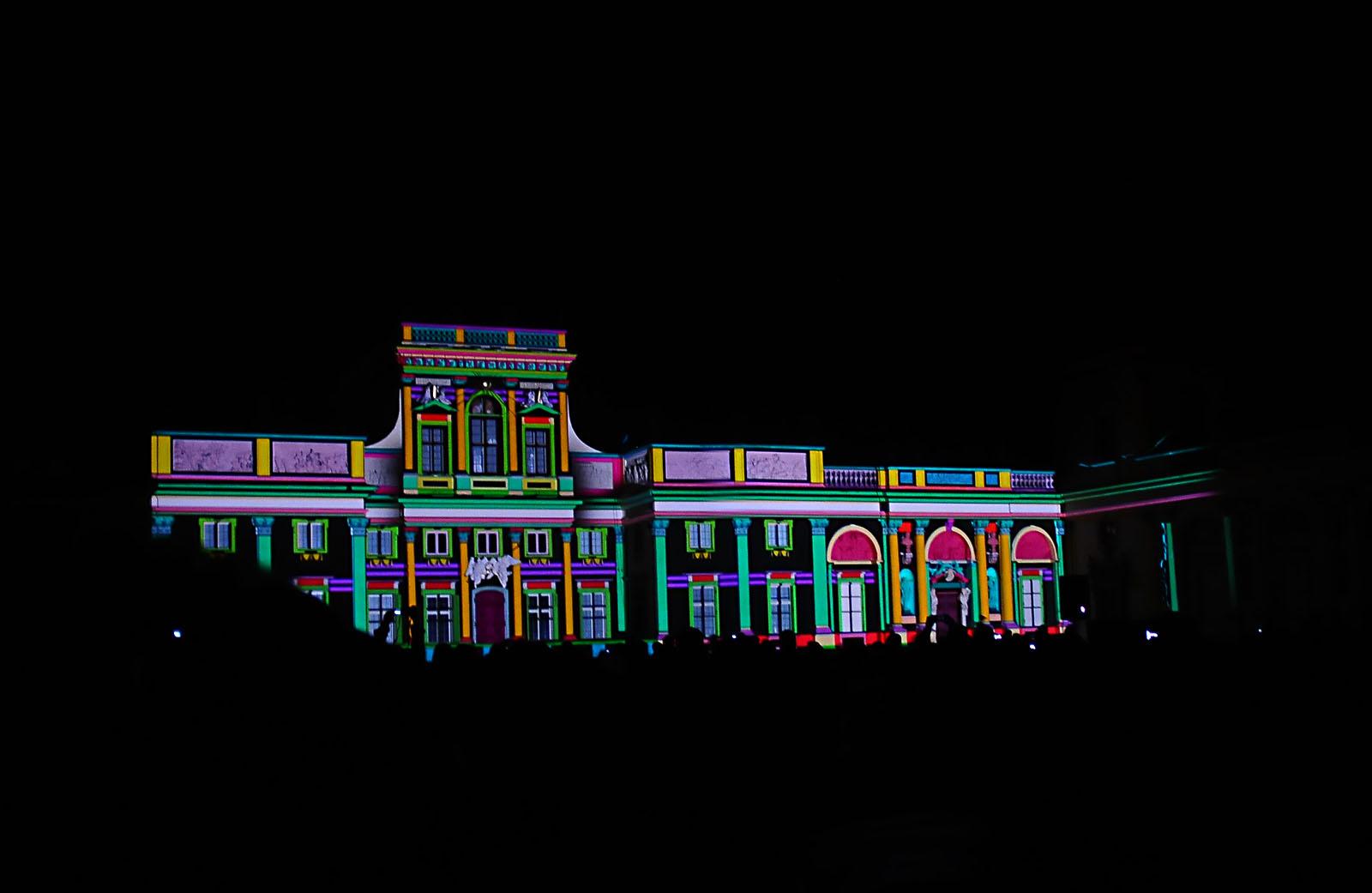 •  II Królewski Festiwal Światła w Wilanowie