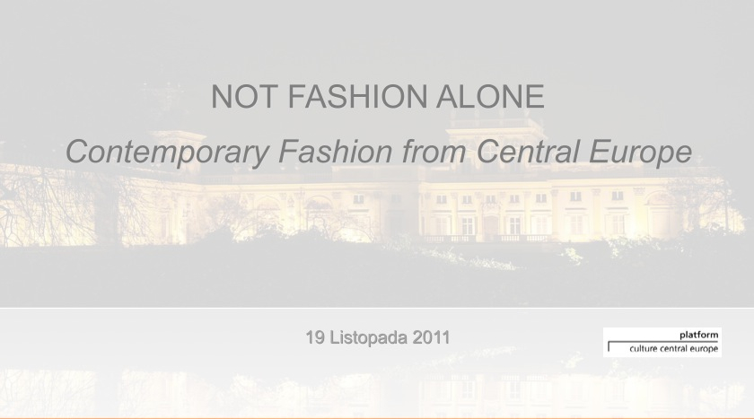 •  Not Fashion Alone